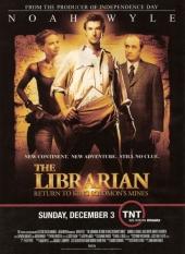 Смотреть онлайн Библиотекарь 2: Возвращение в Копи Царя Соломона в хорошем качестве