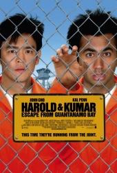 Смотреть онлайн Гарольд и Кумар: Побег из Гуантанамо в хорошем качестве